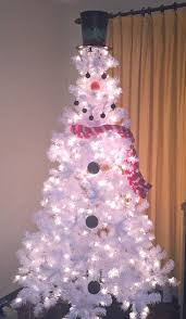 Snowman Christmas Tree By Plum Crazy About Coupons And Other Unique Decorating Ideas