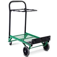 100 Hand Truck Vs Dolly 2in1 Convertible Platform Garden Cart Folding