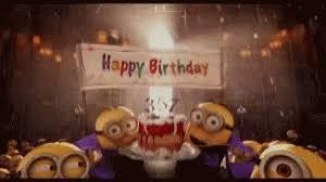 Minions Happy Birthday GIF Minions HappyBirthday Celebrate GIFs