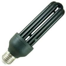 15 watt es e27 turn black light blue compact fluorescent