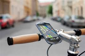 Universal Silicon Smartphone Bike Mount Cell Phone Holder Fits for