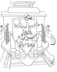 Train Locomotive 62 Transport Coloriages à Imprimer