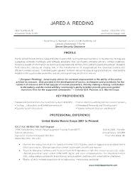 Military To Civilian Resume Examples Best Of Free Example Stepabout