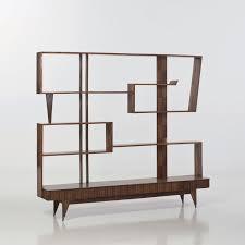 paolo buffa attributed exotic woods bookshelf c1950 shelved