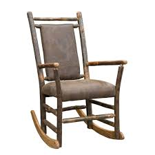Rustic Hickory Rocking Chair With Faux Brown Leather Seat And Back Rustic Rocking Chair La Lune Collection Log Cabin Rocker Home Outdoor Adirondack Twig Modern Gliders Chairs Allmodern R659 Reclaimed Wood Arm Wooden Plans Dhlviews Marshfield Woodland Framed Sumi In 2019 Rockers The Amish Craftsmen Guild Ii Dixon