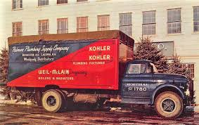 100 Rochester Truck Nh NH Palmer Plumbing Supply Delivery Postcard