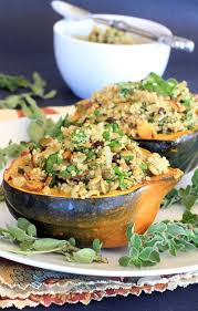 Can Guinea Pigs Eat Salted Pumpkin Seeds by Stuffed Acorn Squash Recipe Pumpkin Seeds U0026 Tart Cherry Quinoa Pilaf