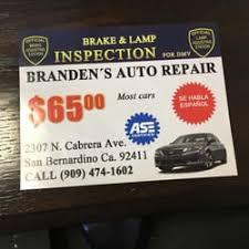 branden s brake l inspection car inspectors 2307 n