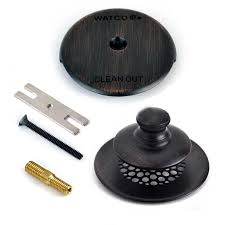 Bathtub Overflow Plate Adapter Bar by Shop Watco Oil Rubbed Bronze Metal Face Plate At Lowes Com