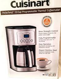 Cuisinart 12 Cup Coffee Maker Jcwaterpolo Com