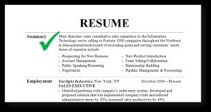 Resume Samples Summary Brief Guide To Tip
