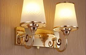lighting wonderful wall light for bedroom brass nook pivoting