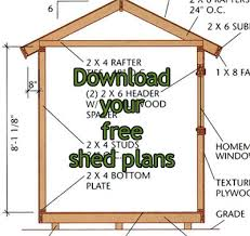 shed plans 10x10 concept and idea woodworking