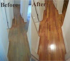 Sandless Floor Refinishing Edmonton by Wow After Mr Sandless Removed The Carpet Padding That Was Stuck