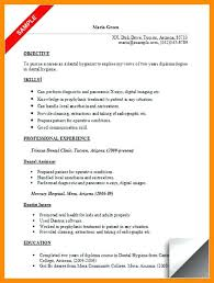 Dental Hygienist Resume Example Sample Hygiene Samples