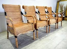 stühle aus rattan fürs esszimmer 4 teile günstig kaufen ebay