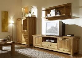 easy möbel wohnzimmer komplett set c floresta 4 teilig eiche massiv farbe natur