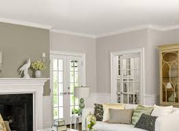 Two Tone Walls No Chair Rail by Two Tone Paint Colors For Living Room The Best Living Room