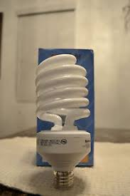 6 new 42 watt compact fluorescent cfl spiral light bulb 2700k