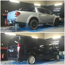 Pickup Trucks And Vans Getting Extreme ECU Remaps On Dyno Are Funny ...