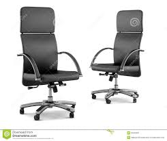 Two Modern Black Office Chairs On White Stock Illustration ... Two Black Office Chairs Isolated On White Stock Photo Buy Inndesign Home Office Chairs Online Lazadasg Best For 20 Herman Miller Secretlab Laz Black Rolling Chair Titan Series Rogen Executive Walnut Desk Human Factors And Ergonomics Swivel To Work In An Comfort Fniture Screen Melbourne Gas Lift At Argoscouk Tesoro Zone Mevious