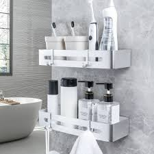 yorbay duschkorb 2er set duschregal ohne bohren