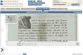 archives nationales nouveaux documents généalogiques en ligne