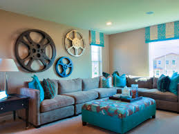Brown And Teal Living Room Curtains by Color Pallette Of Brown For Painting A Small Room To Look Bigger