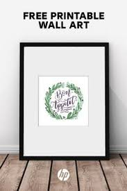 40 Pieces Of Free Printable Art From HP Decorate Your Kitchen Build A Gallery Wall In Living Room And More With These Easy To Print