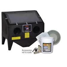 Central Pneumatic Blast Cabinet Glass by Alc Bench Top Abrasive Blaster Cabinet With Starter Kit 4039010