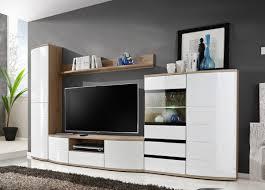 formera wohnwand tv oslo i ii weiß hochglanz schrankwand wohnzimmerwand tv wand