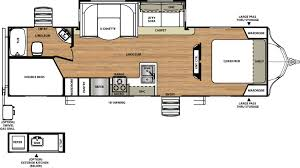Travel Trailer Floor Plans With Bunk Beds by Sale Forest River Vibe Travel Trailers At Family Rv