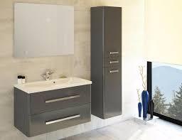badmöbel set danubio 90 cm badezimmer mit waschbecken grau