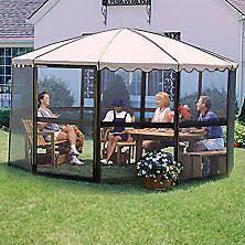 Patio Mate Screen Enclosures by Gazebos Pergolas And Outdoor Enclosures Sam U0027s Club