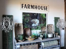 Farmhouse Dining Room Console Table Ideas Rustic