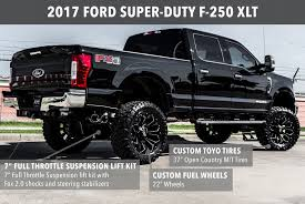 Custom Lifted 2017 Ford F 150 And 250 Trucks