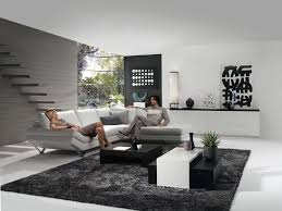 Cool L Shape Sofa As Wells Exellent Living Room Decor Ideas Together With Black Squarecoffee