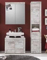 badmöbel badezimmer spiegelschrank spiegel cancun pinie weiß vintage