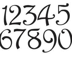 Western Number STENCIL 3 Oklahoma Font Numbers By OaklandStencil