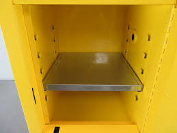 Flammable Cabinets Osha Regulations by Justrite Countertop Flammable Storage Cabinet 4 Gallon