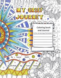 GPS Hope My Grief Journey Coloring Book And Journal For Grieving Parents