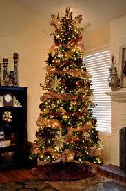 árboles de navidad tradicionales árbol de navidad dorado