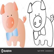 Dibujos De Cerdos Para Pintar Dibujos De Cerdos Para Colorear