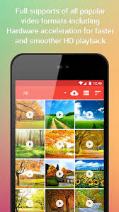 Video Player for Android is the leading free Multimedia player for the Android operating system which allows you to watch all popular video formats on your