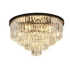 neue moderne kristall decken le schwarz gold wohnzimmer esszimmer beleuchtung runde luxus villa dekoration kronleuchter