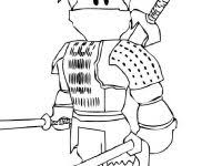 Roblox Ninja Coloring Pages For