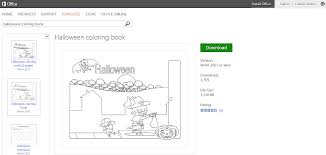 Childrens Halloween Books Online by Free Halloween Templates And Printables For Microsoft Office