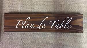 panneau en bois plan de table mariage rustique chic