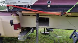 Camper Removal Without Jacks - YouTube