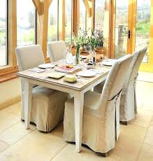 Loose Chair Cover Astounding Covers For Dining Room Chairs With